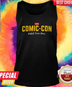 2020 Comiccon Watch From Home Tank Top