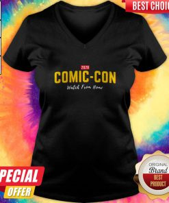 2020 Comiccon Watch From Home V-neck