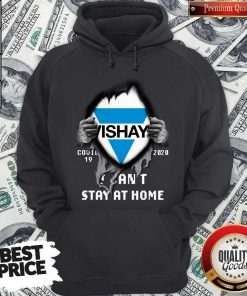 Blood Inside Me Vishay Covid-19 2020 I Can't Stay At Home Hoodie