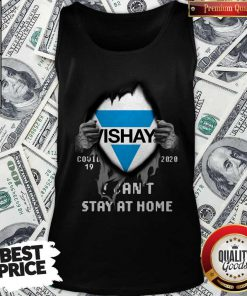 Blood Inside Me Vishay Covid-19 2020 I Can't Stay At Home Tank Top