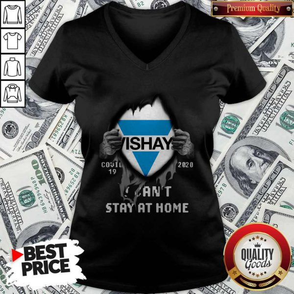 Blood Inside Me Vishay Covid-19 2020 I Can't Stay At Home V-neck