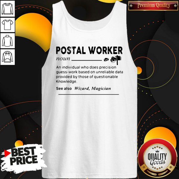 Perfect Postal Worker Definition Tank Top