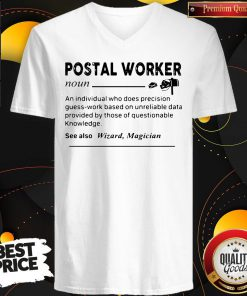 Perfect Postal Worker Definition V-neck