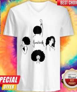 Top Juneteenth Festival Tshirt June By African Americans Tee V-neck