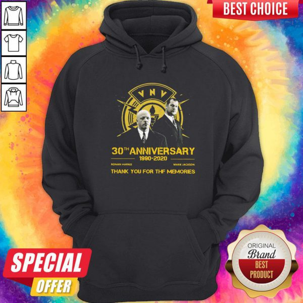 VNV Nation 30th Anniversary 1990 2020 Thank You For The Memories Hoodie