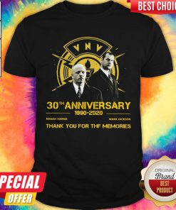 VNV Nation 30th Anniversary 1990 2020 Thank You For The Memories Shirt