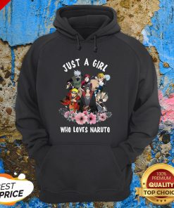 Funny Just A Girl Who Loves Naruto Hoodie