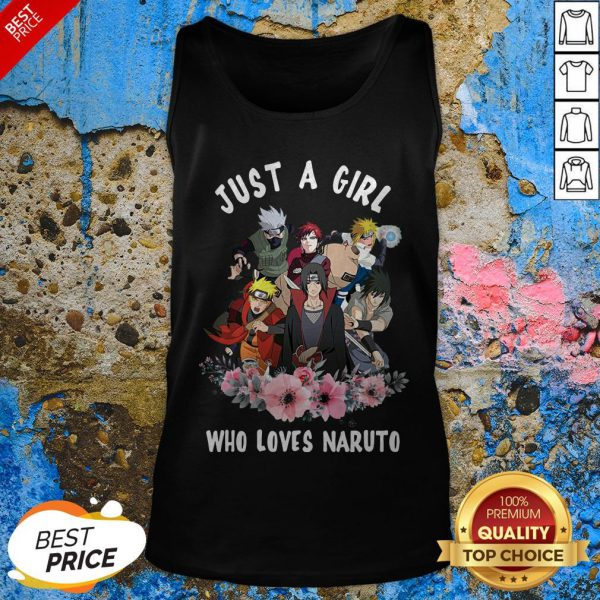 Funny Just A Girl Who Loves Naruto Tank Top