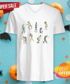 Nice Zombies Sicker Halloween Day 2020 V-neck