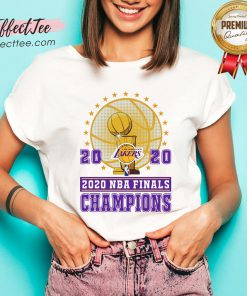 2020 Los Angeles Lakers Nba Finals Champions V-neck