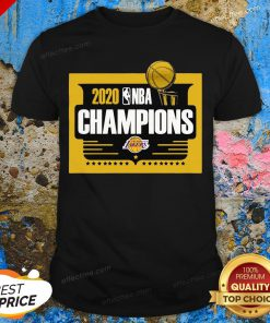 2020 Nba Champions Los Angeles Lakers Shirt