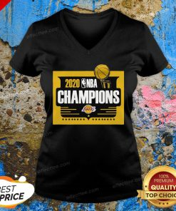 2020 Nba Champions Los Angeles Lakers V-neck
