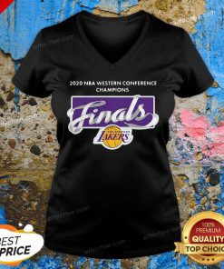 2020 Nba Western Conference Champions Finals Los Angeles V-neck