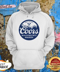 Coors Banquet Beer Protect Our West Hoodie