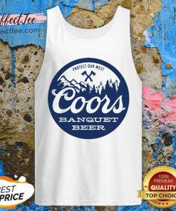Coors Banquet Beer Protect Our West Tank Top