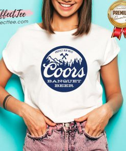 Coors Banquet Beer Protect Our West V-neck