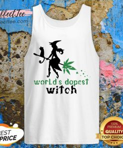 Weed Worlds Dopest Witch Tank Top