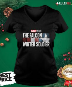 Cute The Falcon Winter Soldier V-neck - Design By Effecttee.com