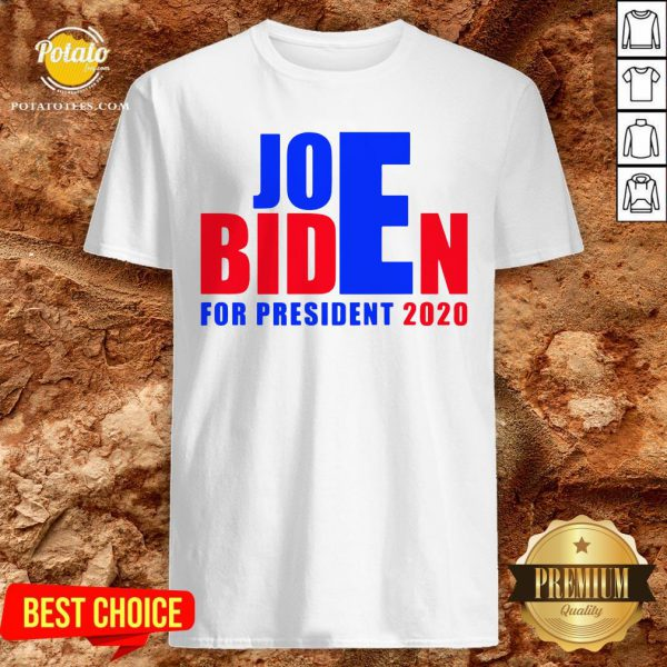 Happy For President 2020 Joe Biden Win Trump Shirt - Design By Effecttee.com