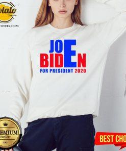 Happy For President 2020 Joe Biden Win Trump Sweatshirt - Design By Effecttee.com