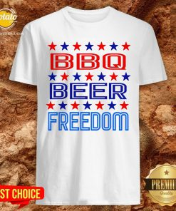 Top BBQ Beer Freedom USA America 2020 Proud American Shirt - Design By Effecttee.com