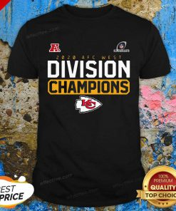 2020 AFC west division Champions Kansas City Chiefs Shirt - Design By Effecttee.com