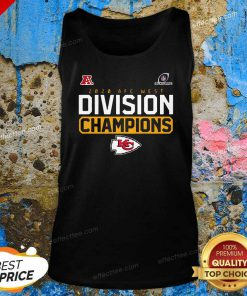 2020 AFC west division Champions Kansas City Chiefs Tank Top - Design By Effecttee.com