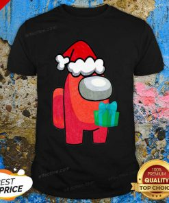 Among Us Hat Santa Merry Christmas 2020 Shirt - Design By Effecttee.com