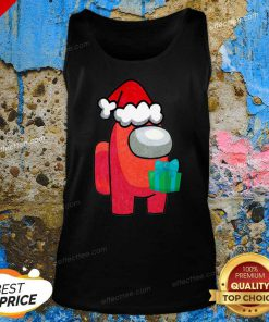 Among Us Hat Santa Merry Christmas 2020 Tank Top - Design By Effecttee.com