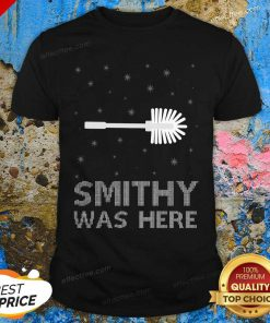 Smithy Was Here Ugly Christmas Shirt - Design By Effecttee.com