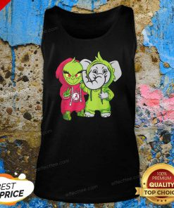 Baby Grinch Baby Elephant Peace Alabama Crimson Tide Tank Top - Design By Effecttee.com