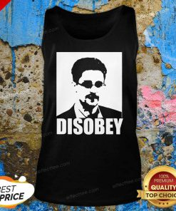 Edward Snowden Disobey Tank Top- Design By Effecttee.com