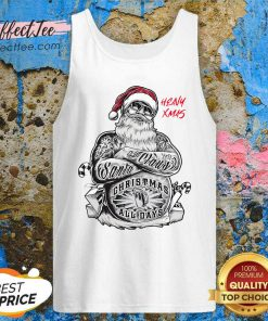 Tattoo Heavy Xmas Santa Claus Christmas All Days Tank Top - Design By Effecttee.com