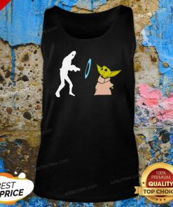 Star Wars Mandalorian Baby Yoda Grogu Stunned Tank Top - Design By Effecttee.com