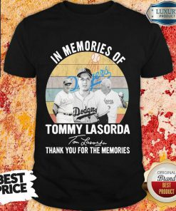Annoyed In Memories Of Tommy Lasorda 7 Signature Vintage Retro Shirt - Design by Effecttee.com