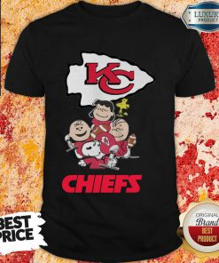 Envious Snoopy And Friends Kansas City Chiefs 22 Super Bowl LV Shirt - Design by Effecttee.com