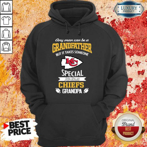 Unhappy It Takes Someone Special To Be A 1 Chiefs Kansas City Logo Hoodie - Design by Effecttee.com