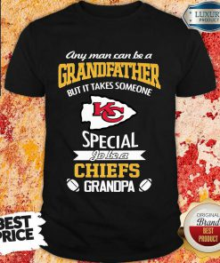 Unhappy It Takes Someone Special To Be A 1 Chiefs Kansas City Logo Shirt - Design by Effecttee.com