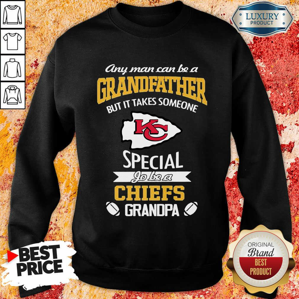 Unhappy It Takes Someone Special To Be A 1 Chiefs Kansas City Logo Sweatshirt - Design by Effecttee.com