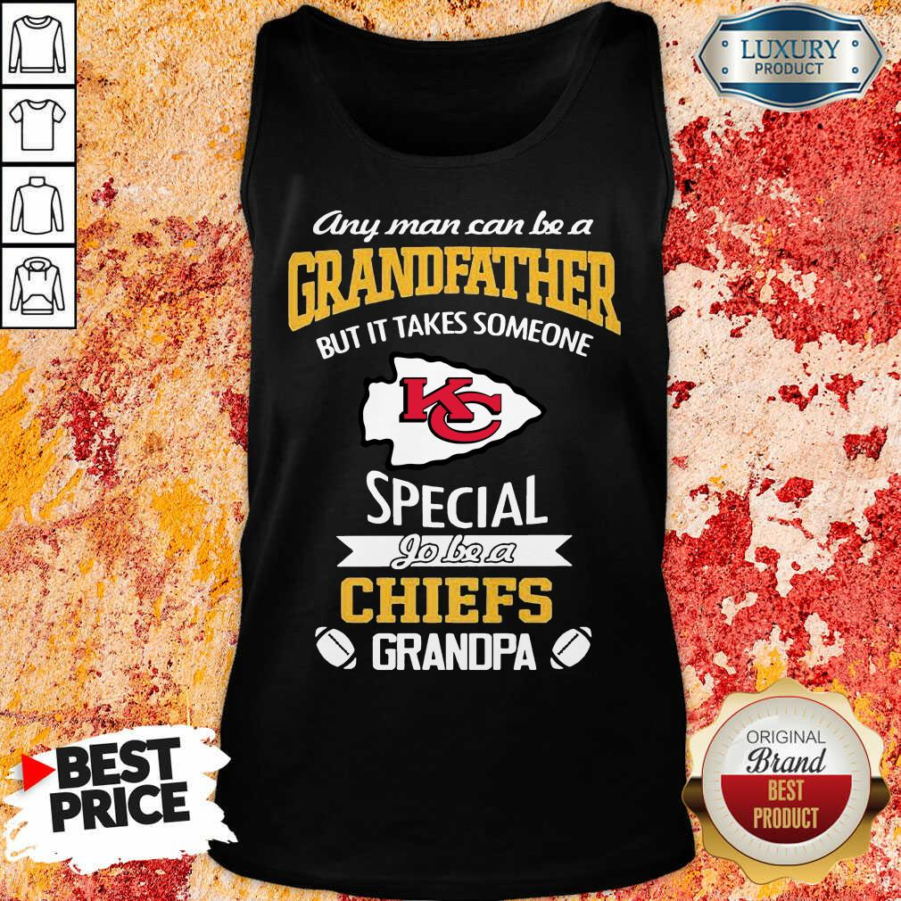 Unhappy It Takes Someone Special To Be A 1 Chiefs Kansas City Logo Tank Top - Design by Effecttee.com