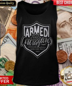 Armed And Courageous ACOG Kids Rally 2021 Tank Top
